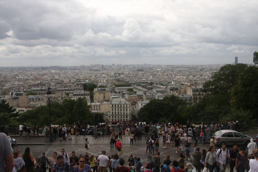 The view from Montmarte
