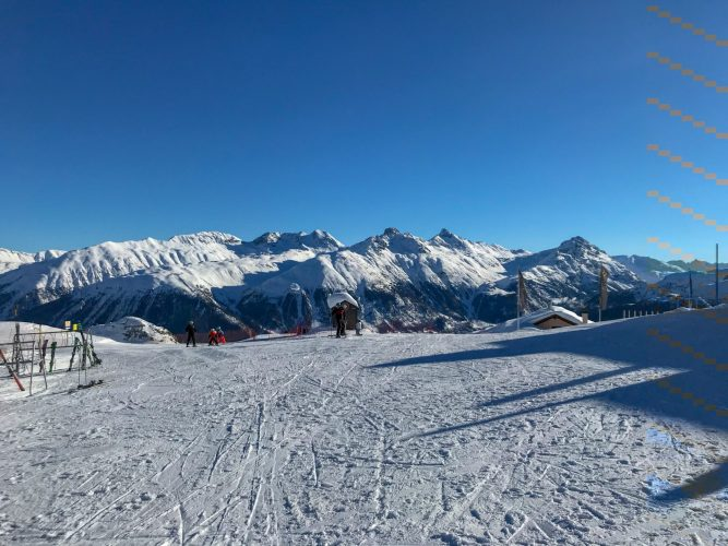 Skiing St Moritz