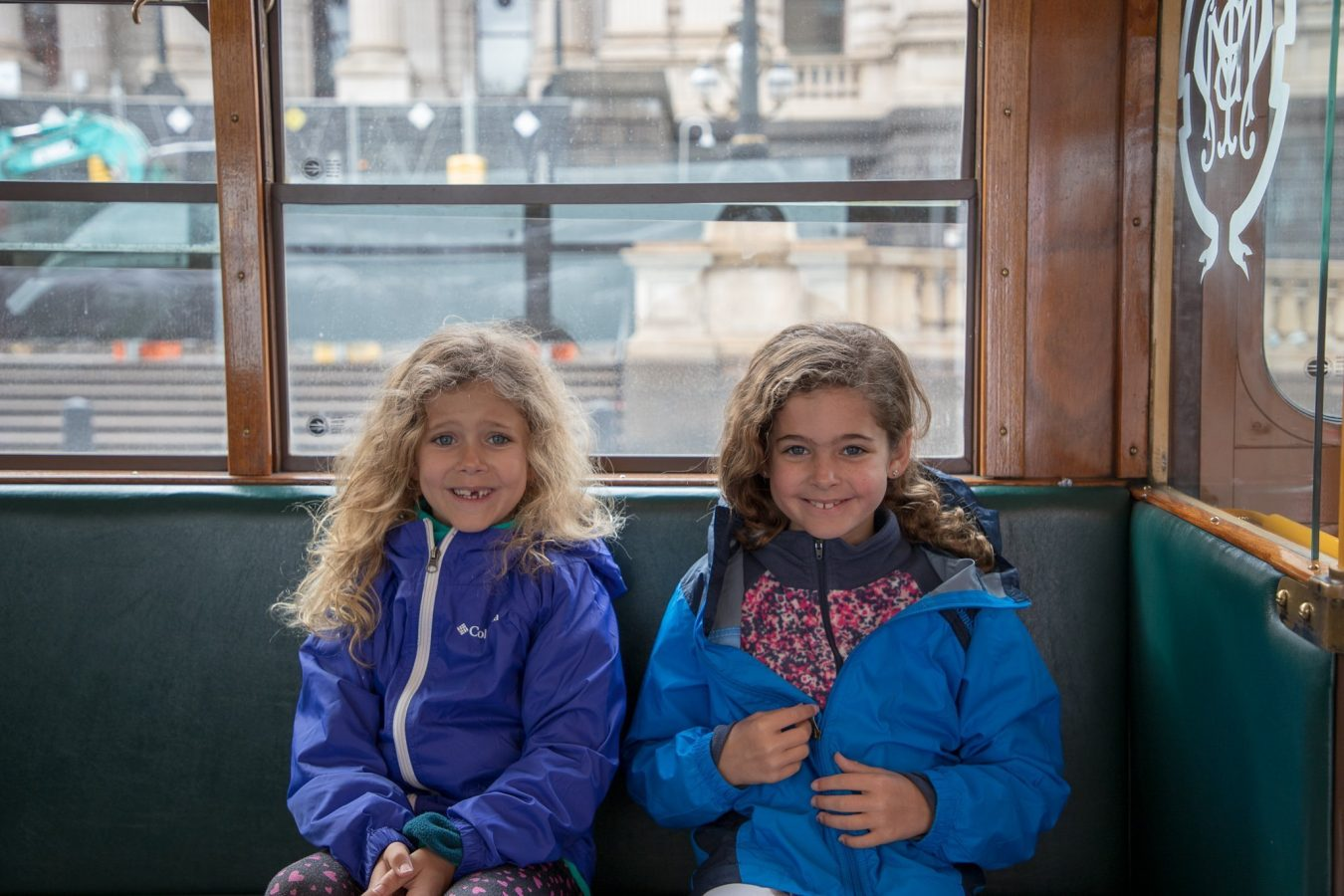 Riding the Trolly in Melbourne