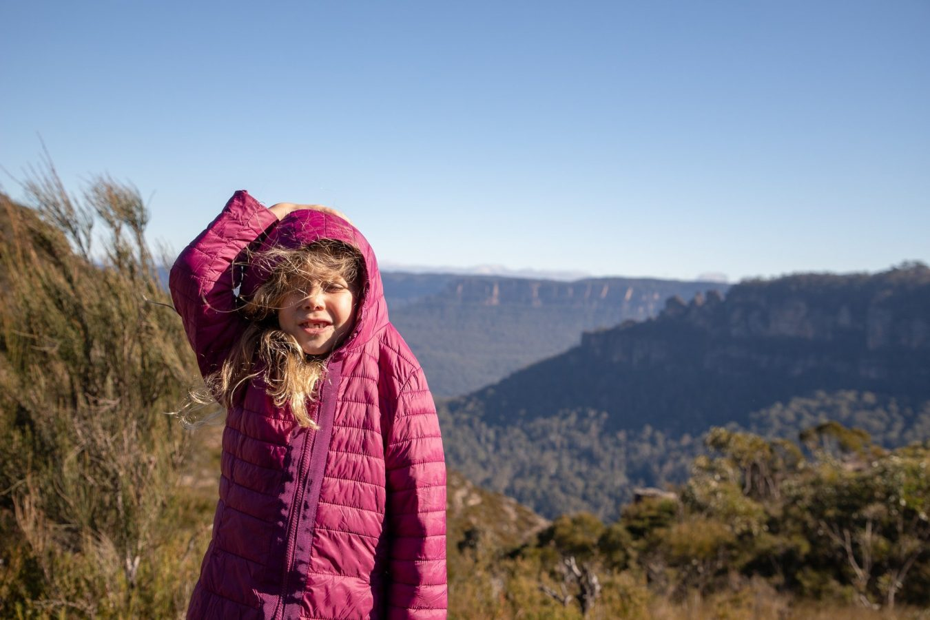 A windy day in the Blue Mountains
