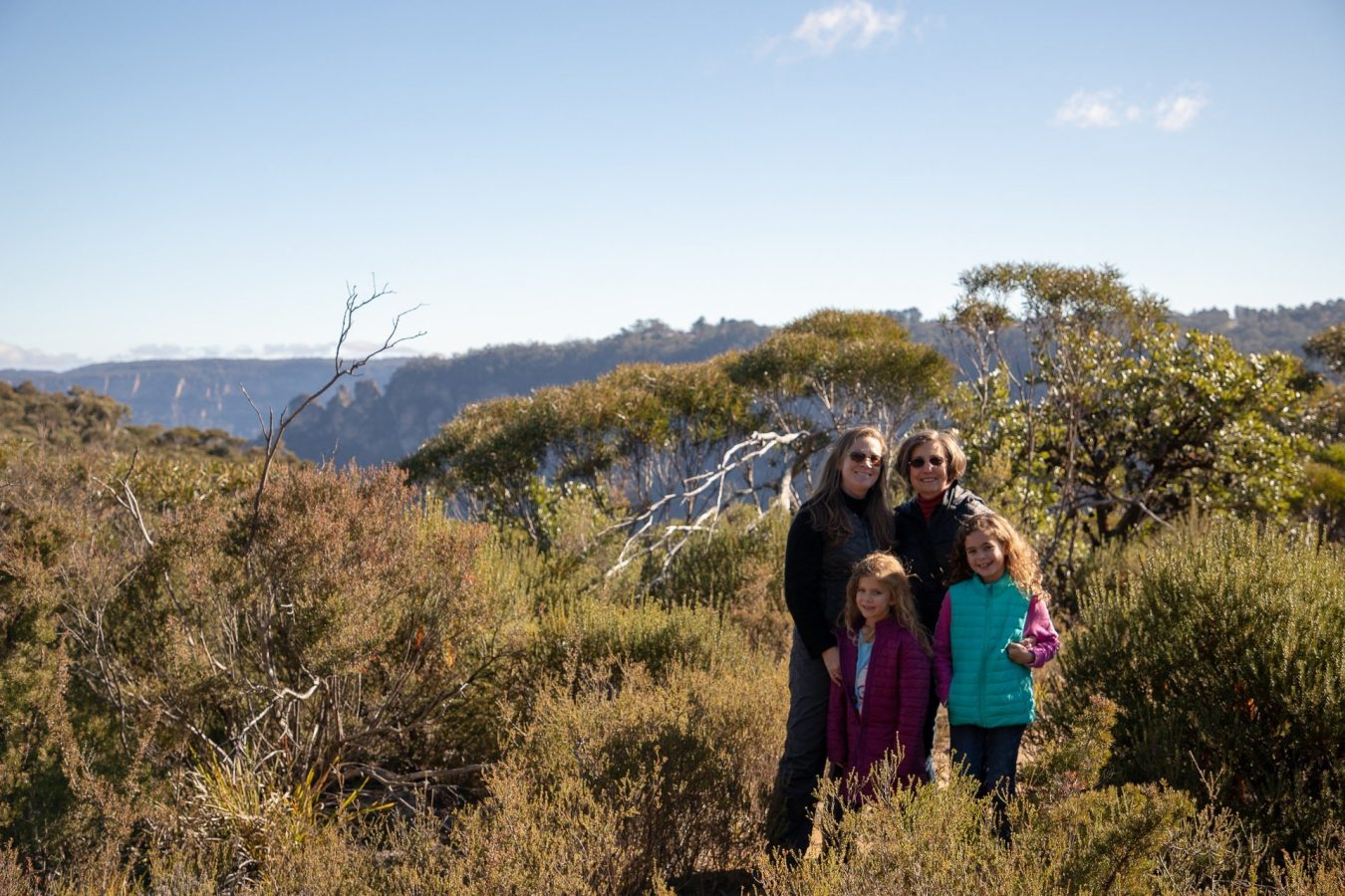 Out for a hike in the Blue Mountains