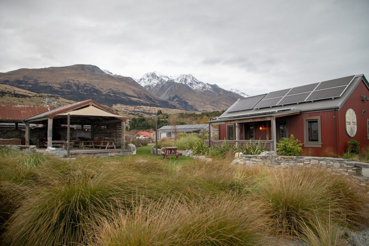 A fun new Ecolodge in Glenorchy