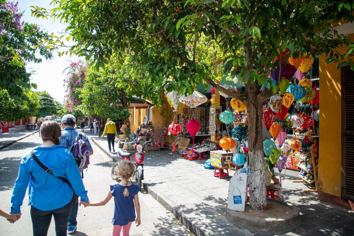 on the streets of Hoi An
