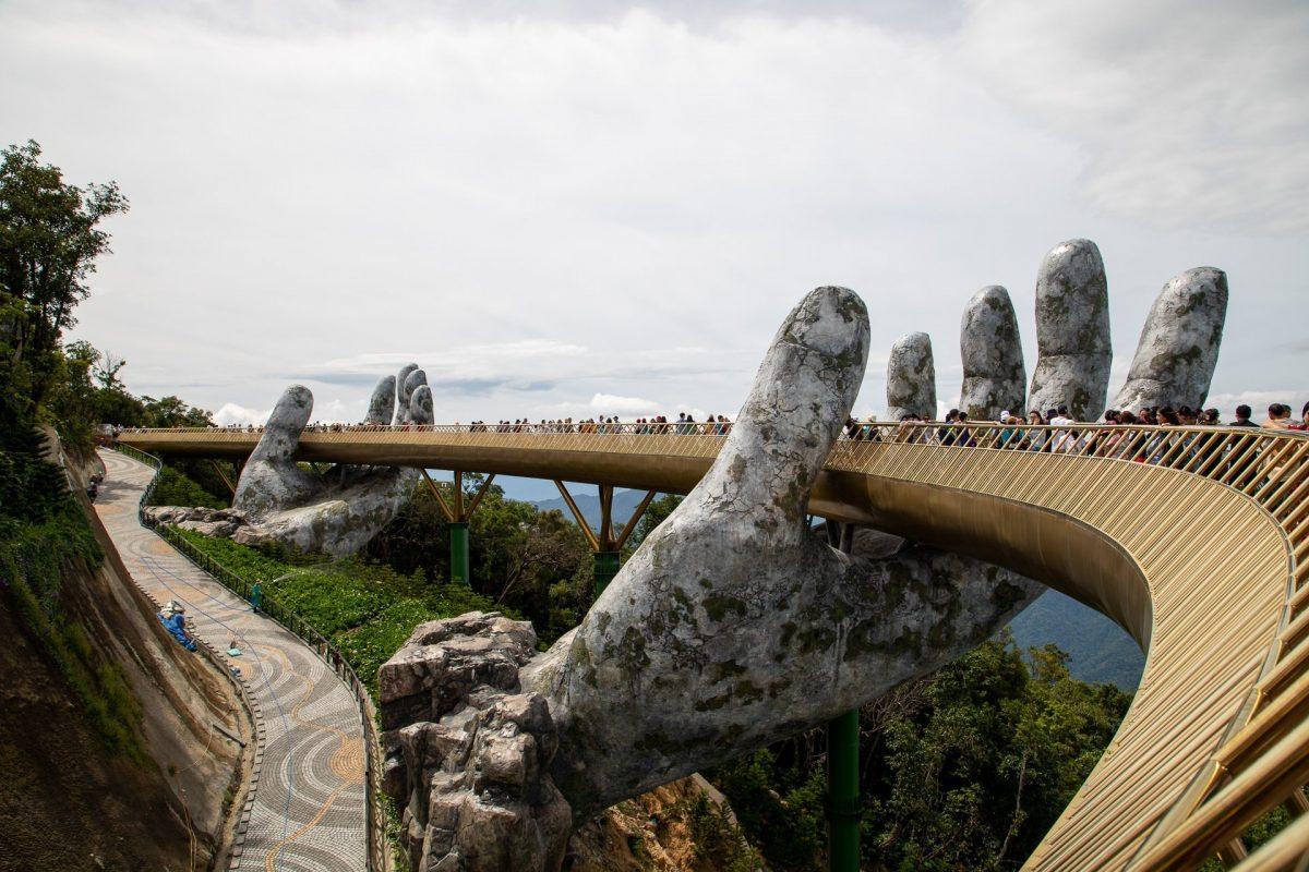 the Golden Bridge at BaNa Hill