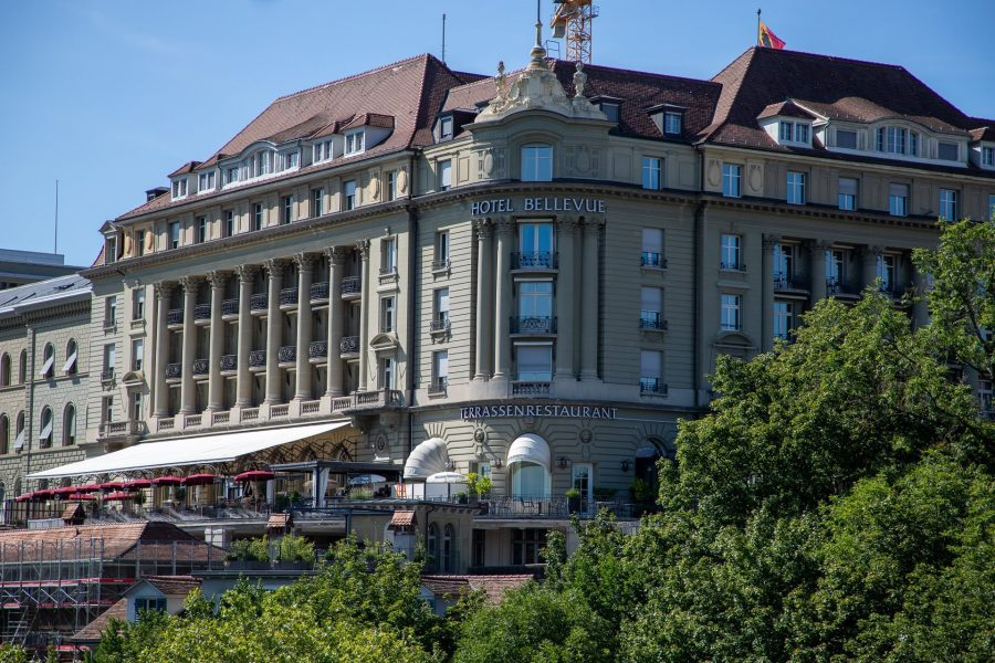To Bern and the Bellevue Palace Hotel