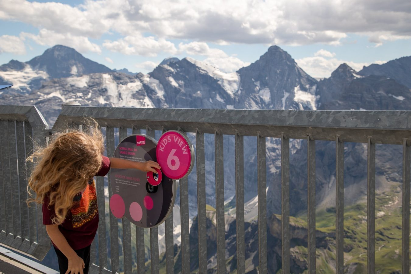Exploring on the Schilthorn