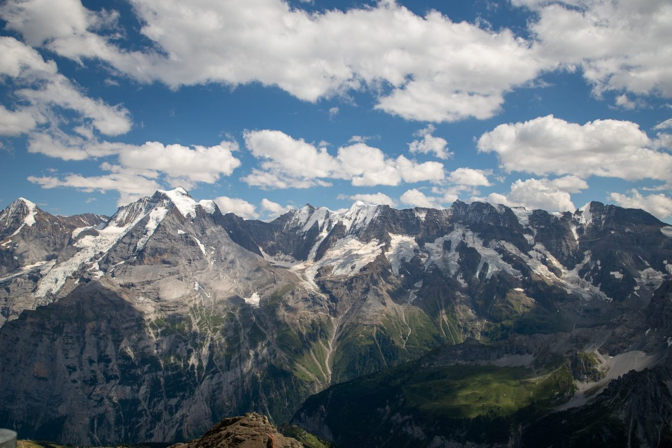 Views from the top of the Schilthorn