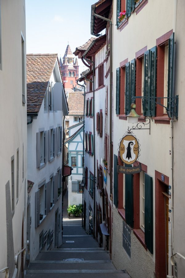 Fun alleyways to explore in Basel