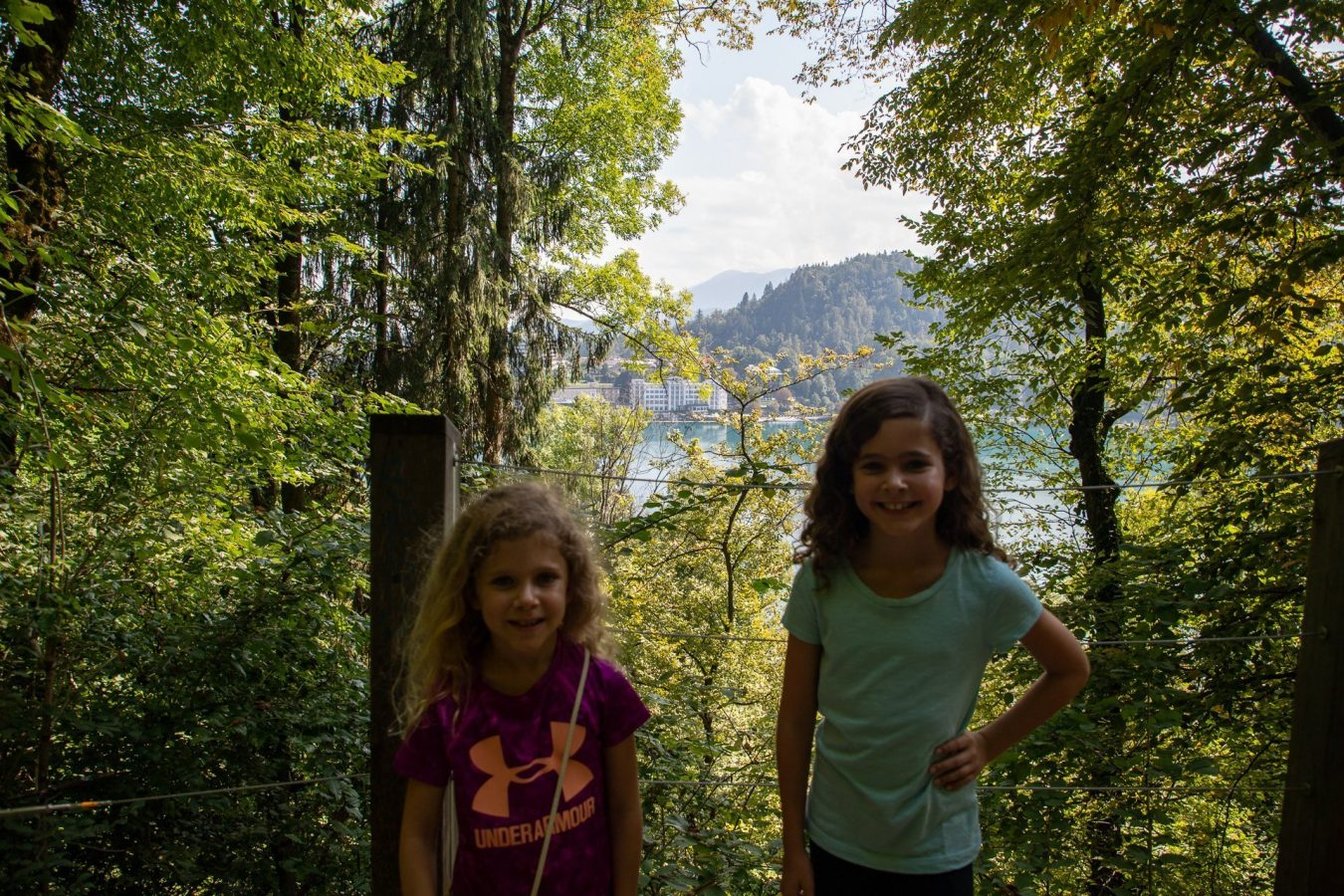 Along the hike up to Bled Castle