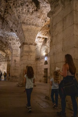 The Diocletian's Palace cellar