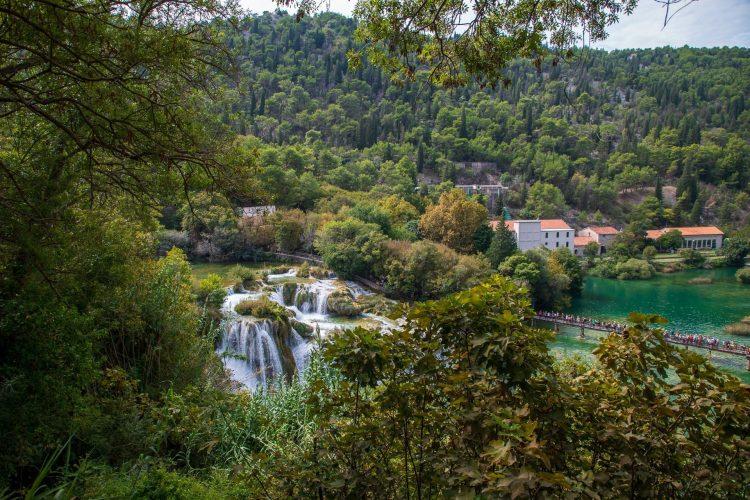 Split Croatia, Plitvice Lakes & Krka National Parks, & Split, Croatia