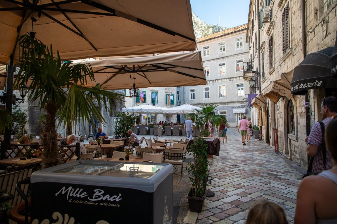 Another city filled with sidewalk cafes