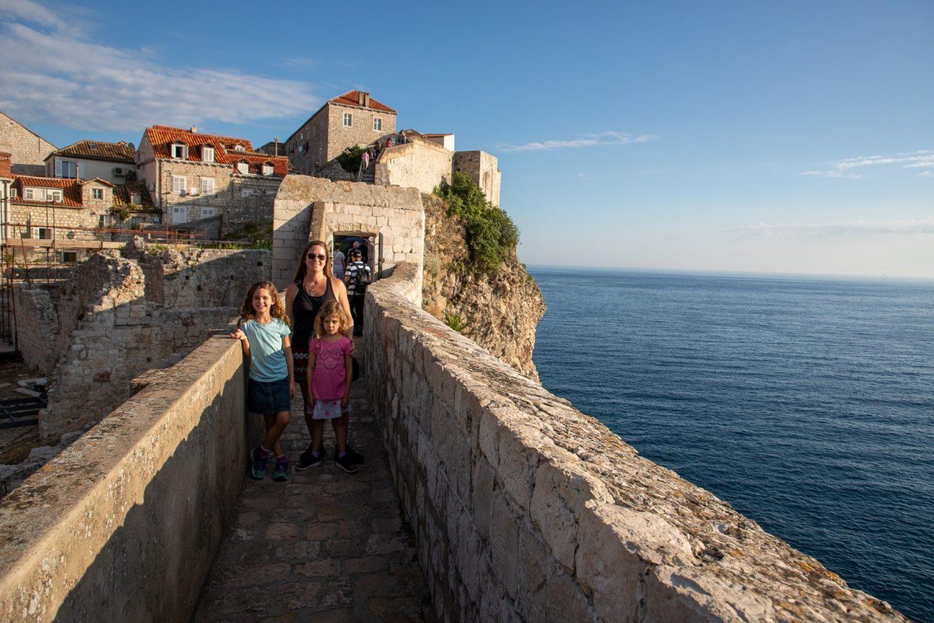 Walking the Dubrovnik city walls