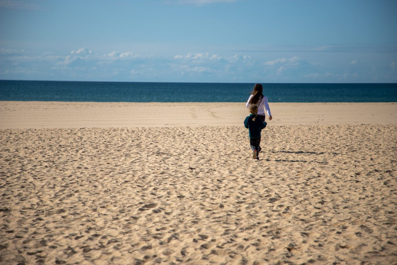 On the beach by Vilamoura