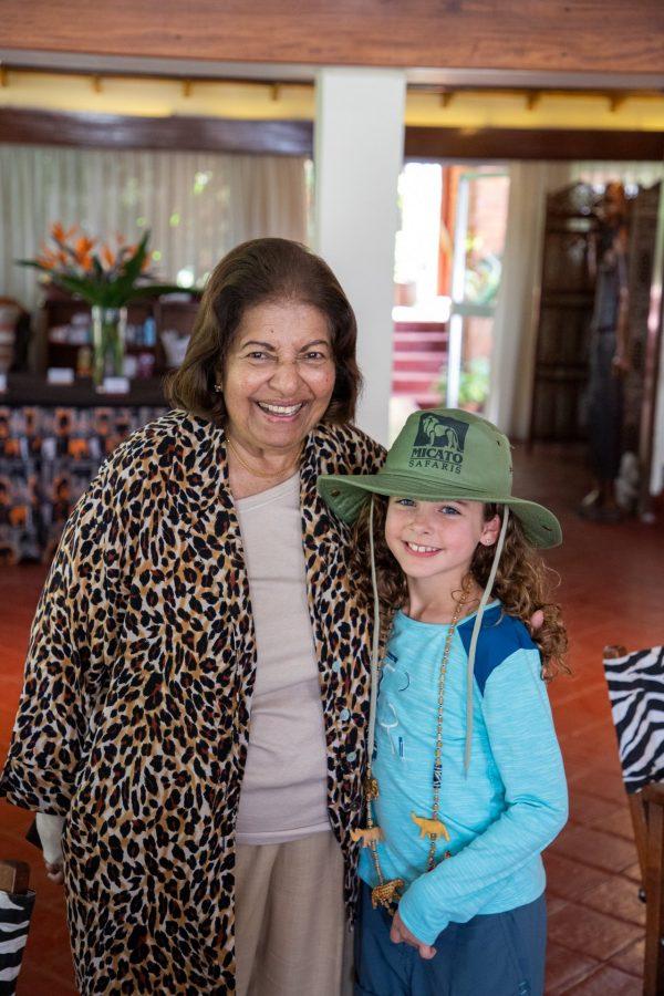 Angela with Jane Pinto