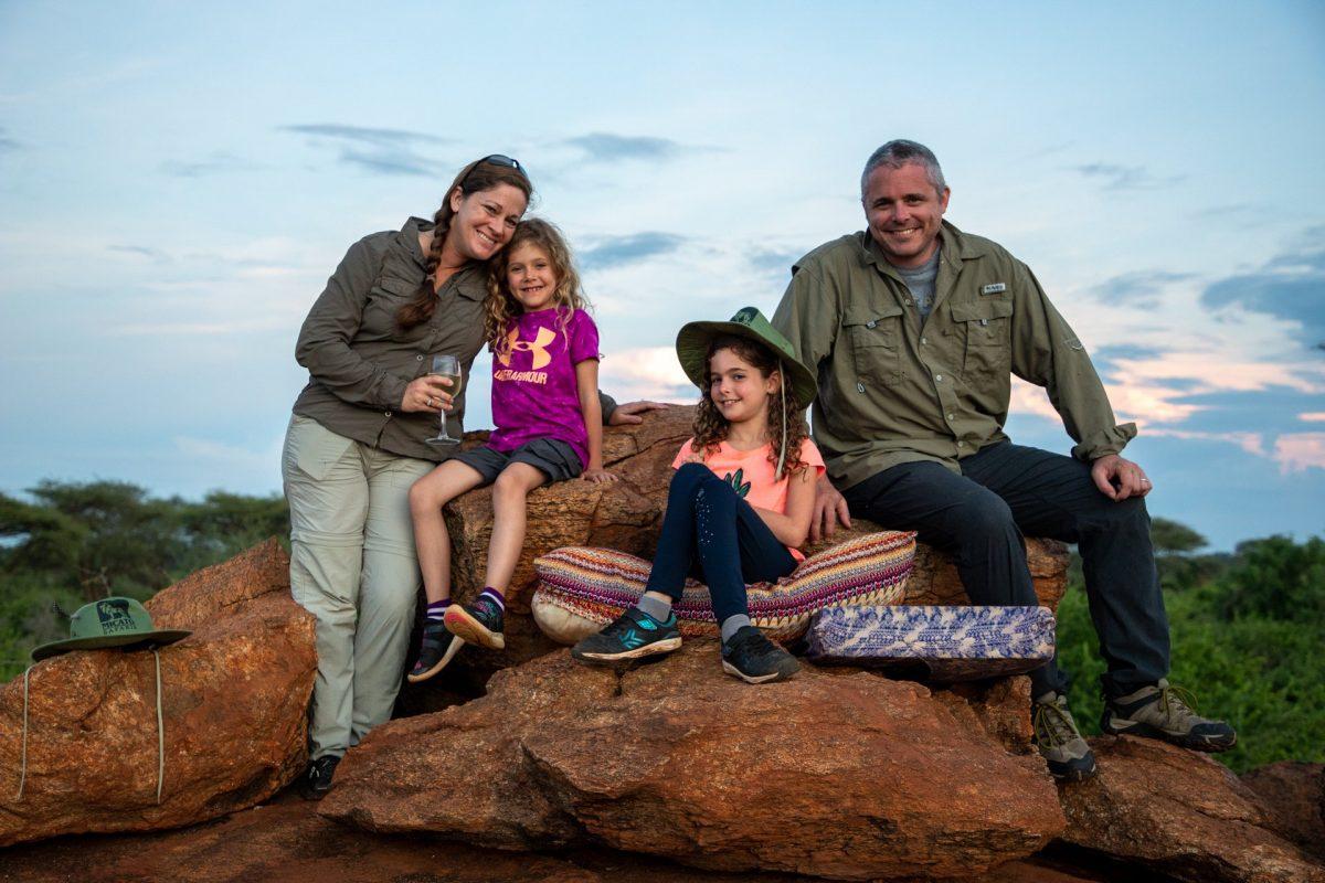 Our last sundowner before heading off to the Masai Mara