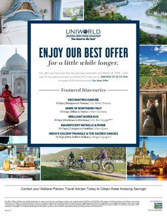 2019 Uniworld Best Offer Flyer