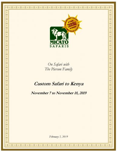 Custom Safari to Kenya for the Pierson Family_Page_01