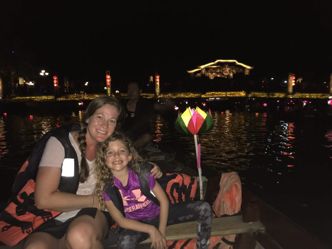 Our night boat cruise in Hoi An