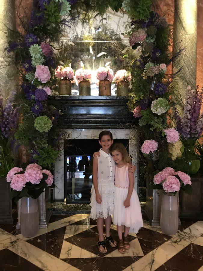 Lobby in he Mandarin Oriental, London
