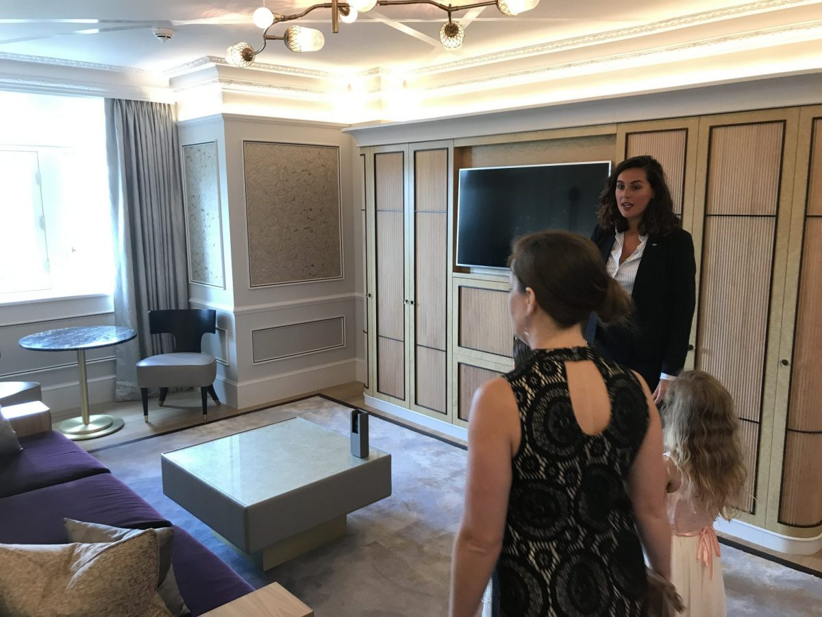 Site Inspection at the Mandarin Oriental