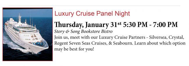 Luxury Cruise Panel Night 1.31.19