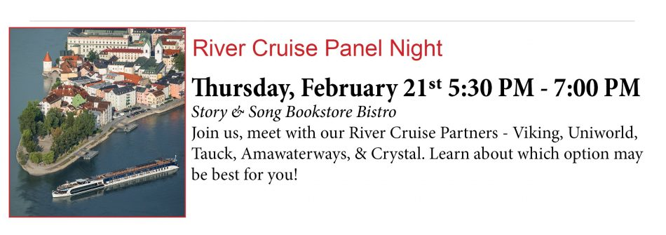 River Cruise Cruise Panel Night 2.21.19
