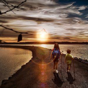 children travelers